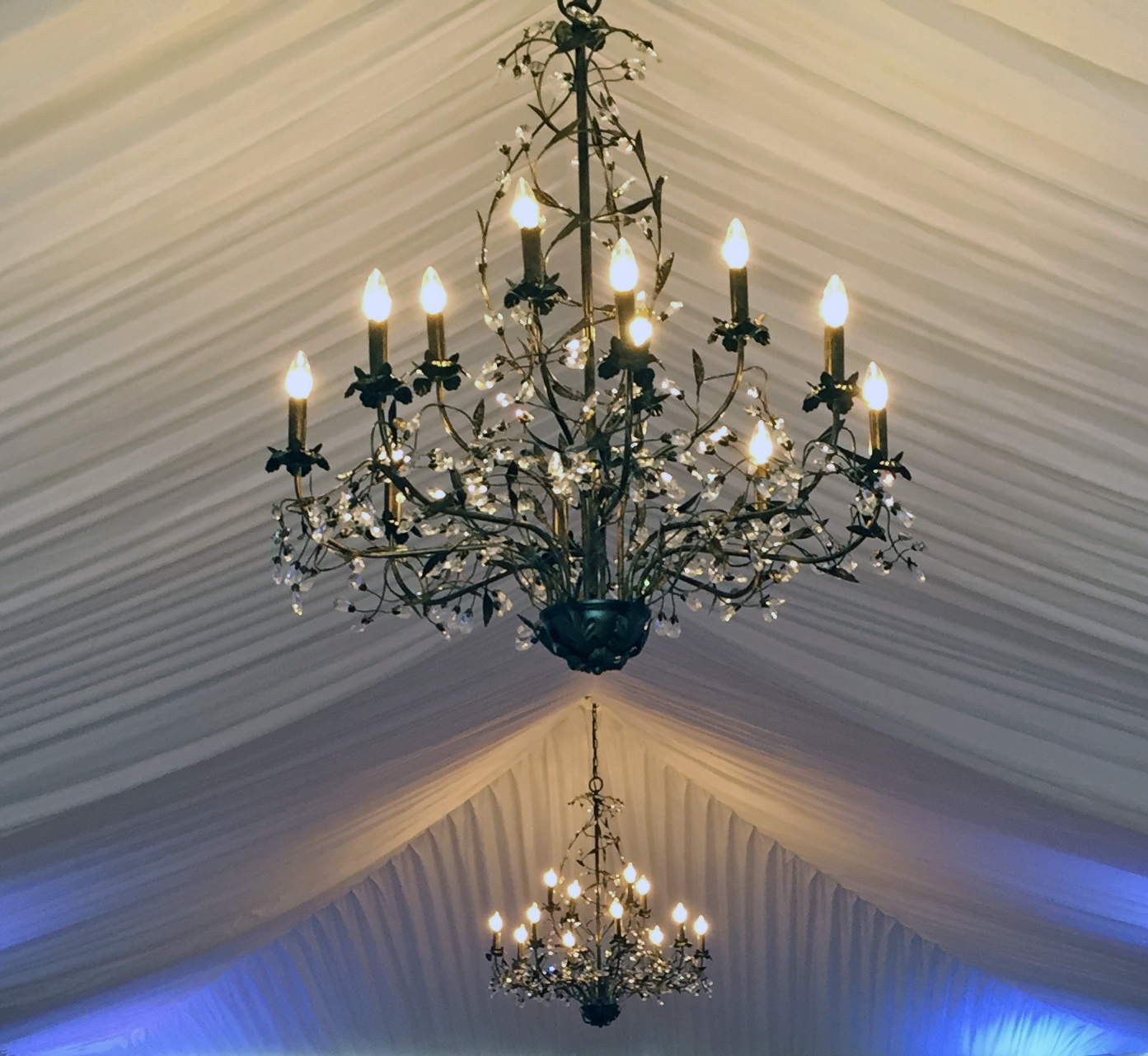 Chandelier rentals party tent rentals in rochester ny buffalo ny all season hank parker tent rental products aloadofball Gallery