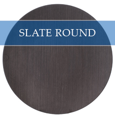 SLATE ROUND CHARGER PLATE