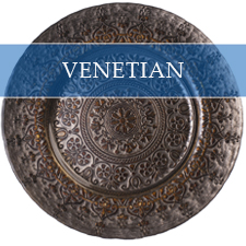 VENETIAN CHARGER PLATE