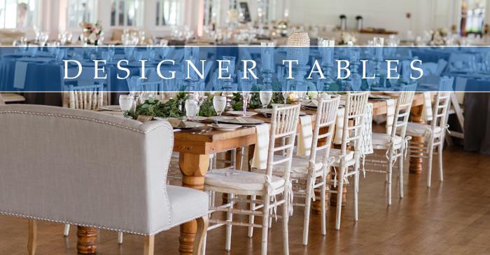 Designer Table Rentals Party Amp Tent Rentals Buffalo Ny