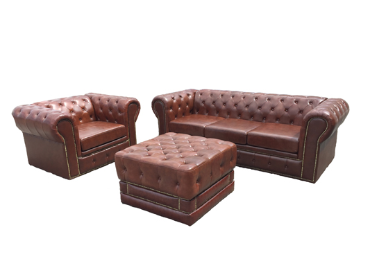 LEATHER CLUB FURNITURE