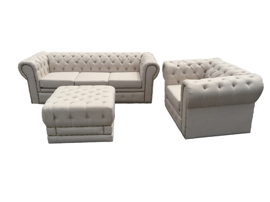 UPHOLSTERED CLUB FURNITURE