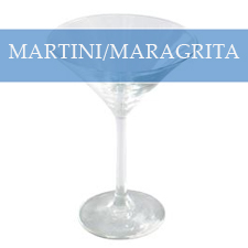 MARTINI / MARGARITA GLASSES
