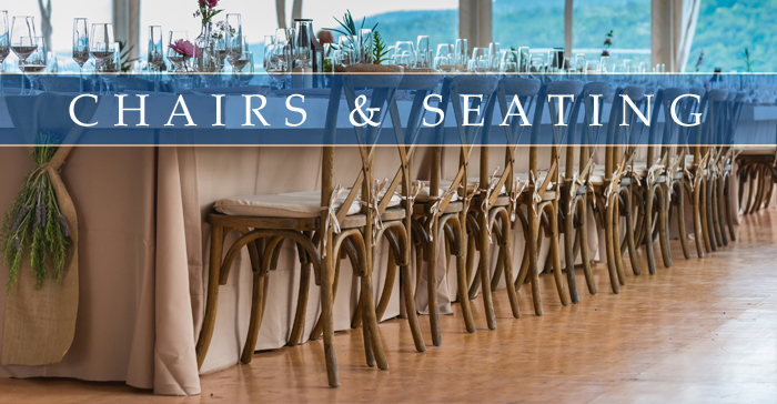 CHAIR & SEATING RENTALS
