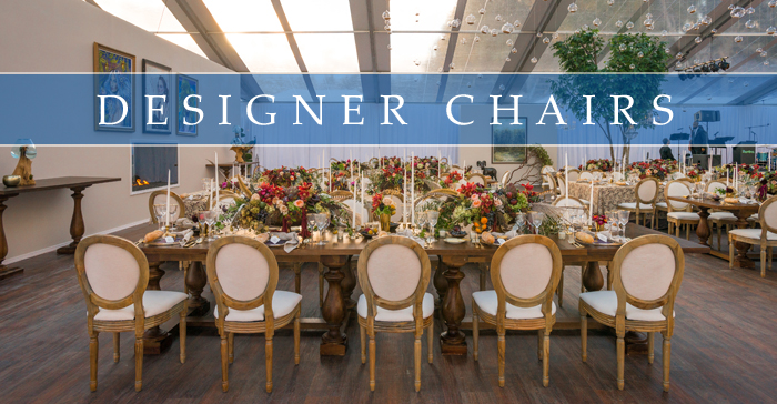 DESIGNER CHAIR RENTALS