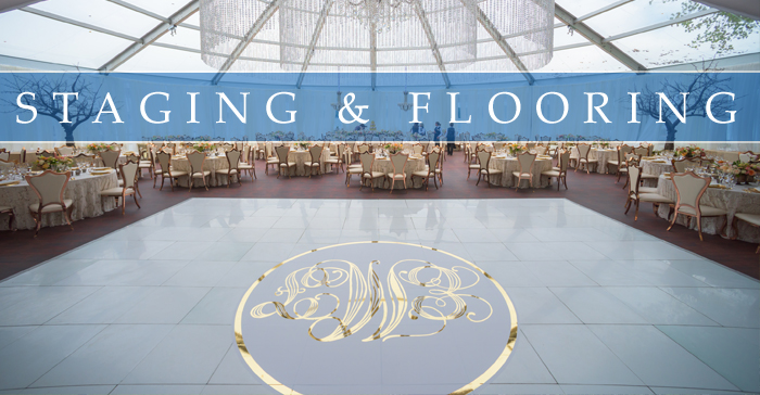 STAGING & FLOORING RENTALS