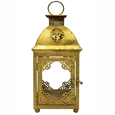 ORNATE GOLD LANTERN