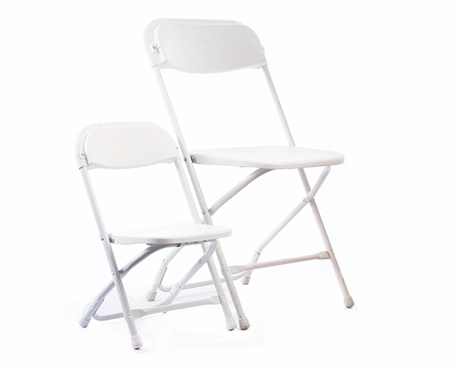FOLDING CHAIR, WHITE