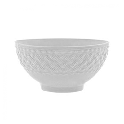 BASKET WEAVE SOUP BOWL