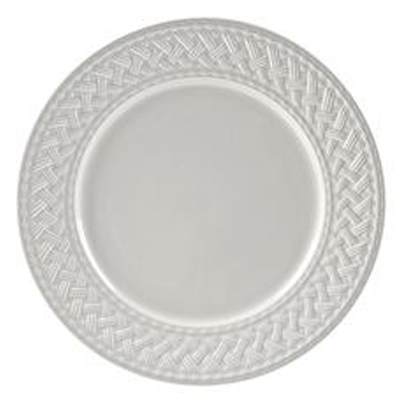 BASKET WEAVE DINNER PLATE