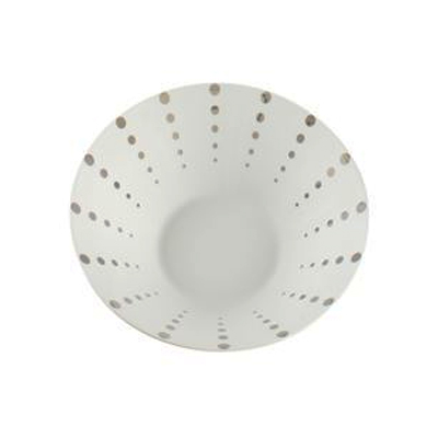 PLATINUM DOT SOUP/PASTA BOWL
