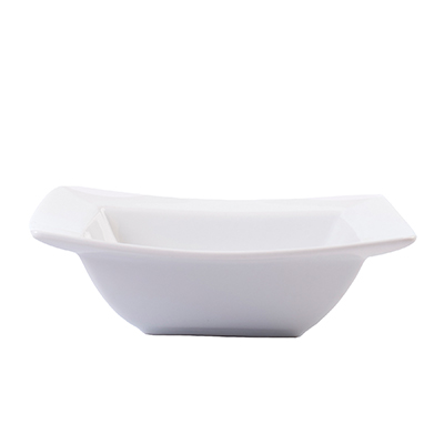 WHITE SQUARE BOWL