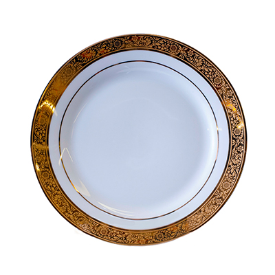 TUSCAN GOLD LUNCH PLATE