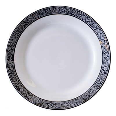 TUSCAN SILVER DINNER PLATE