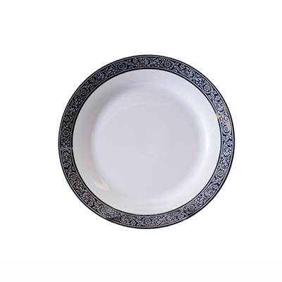 TUSCAN SILVER SALAD/DESSERT PLATE
