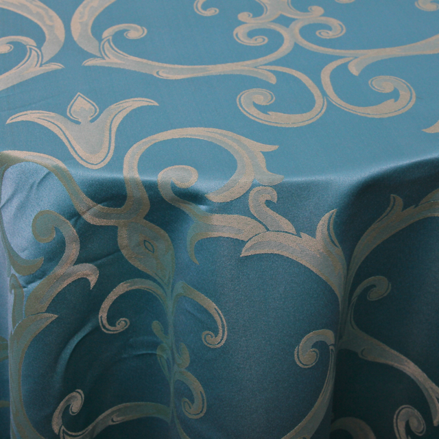 DAMASK - CHOPIN TURQUOISE & GOLD