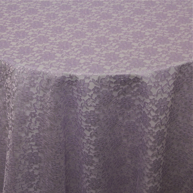 FRENCH LACE LILAC OVERLAY