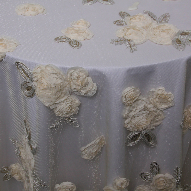 BELLA LACE OVERLAY IN IVORY