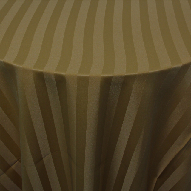 POLYESTER - GOLD STRIPE
