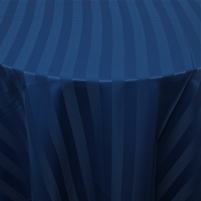 POLYESTER - ROYAL BLUE STRIPE