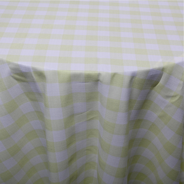 PRINTS - POLYESTER CHECKERED MAIZE