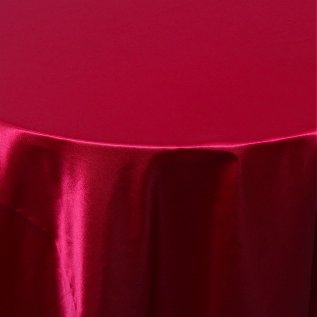 SATIN - POLYESTER RED