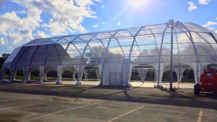 Hank Parker's Structure Tents | Igloo Structure Tent Rentals