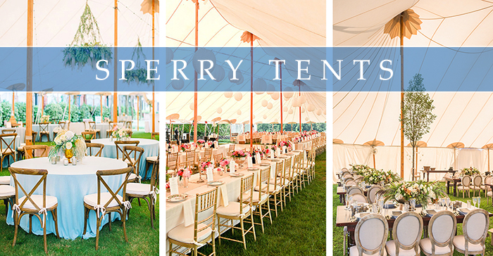 Sperry Sailcloth Wedding Tent Rentals In Buffalo And
