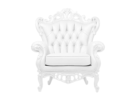 Marcelo White Lounge Chair