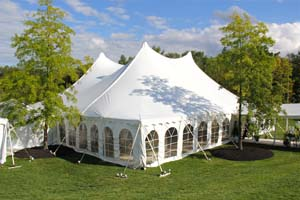 Party and Wedding tent rentals Buffalo NY from Hank Parker's
