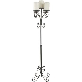 FLOOR CANDELABRA BLACK