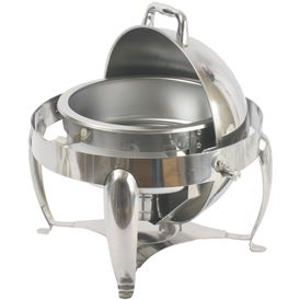 3 QT. ROUND CHAFER W ROLL-LID