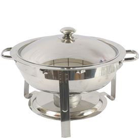 3 QT. ROUND CHAFING DISH