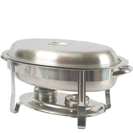 6 QT. OVAL CHAFER