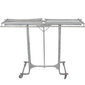 FOLDING RACK WITH SHELF