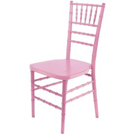 chiavari chair pink