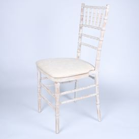 CHIAVARI CHAIR, WHITE WASH