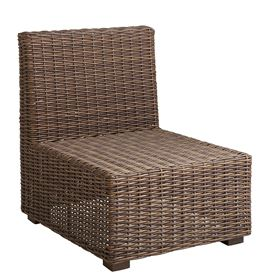COCOA WICKER LOUNGE FURNITURE - MID SECTION