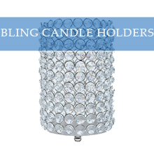 BLING CANDLE HOLDERS