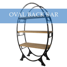 OVAL BACK BAR
