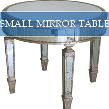 SMALL MIRROR TABLE