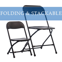 FOLDING & STACKABLE CHAIRS