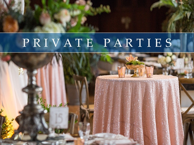 Private Parties Gallery
